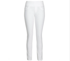 2 Spring Trends to find at Katies: White Jeans and Bomber Jackets.