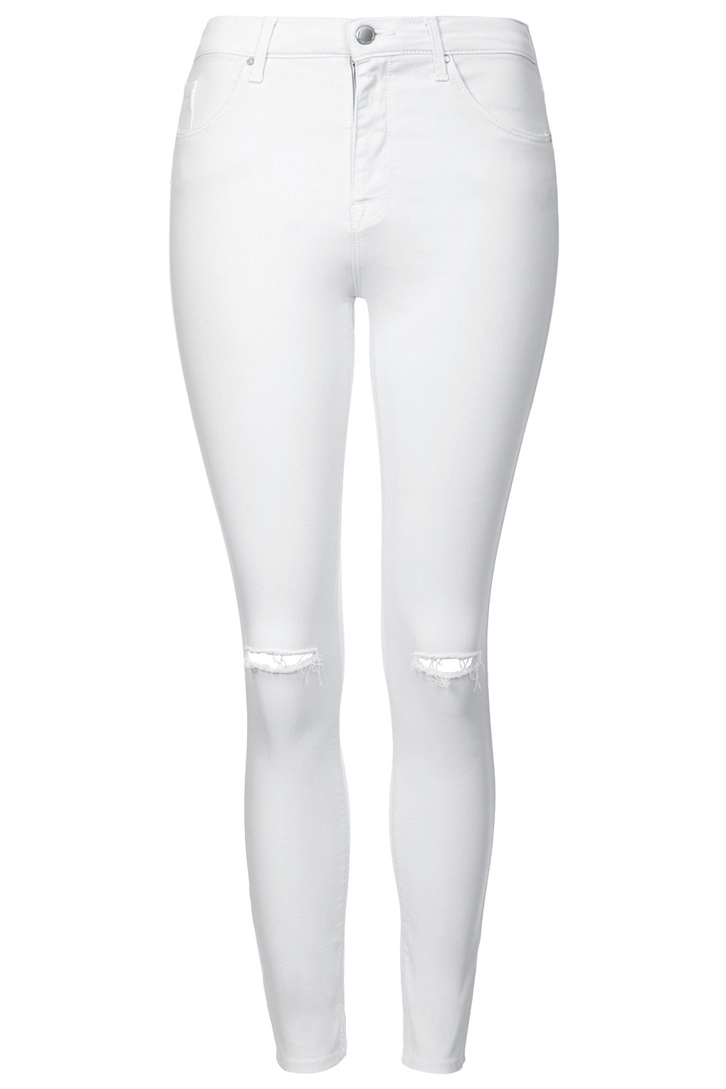MOTO WINTER WHITE RIP LEIGH JEANS.