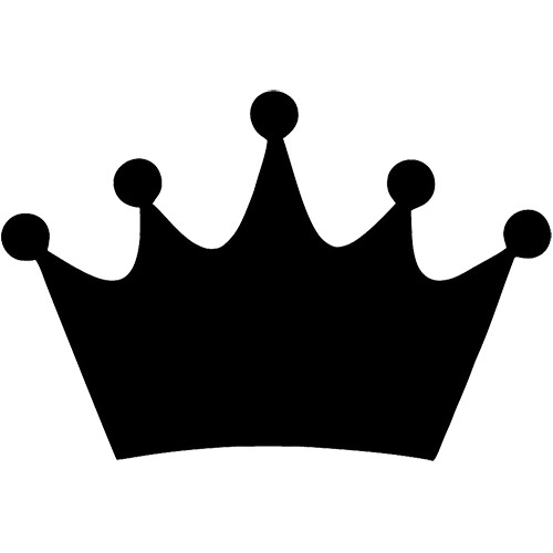 649 King Crown free clipart.