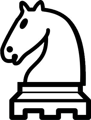 Chess clipart white knight, Chess white knight Transparent.