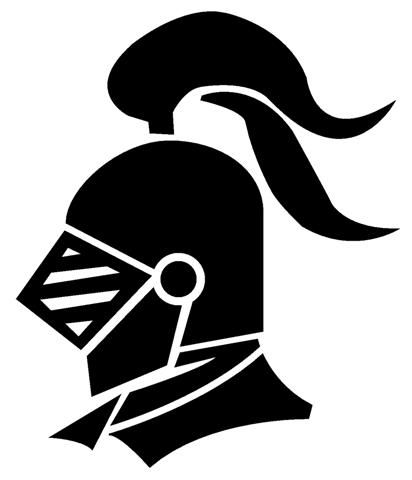 169 Knight Helmet free clipart.