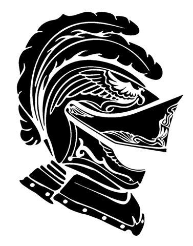 knight helmet clip art.