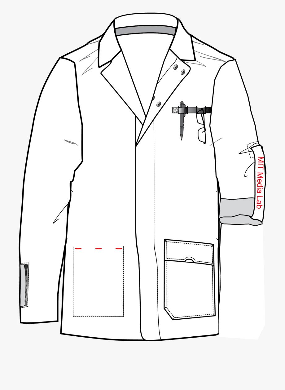 Drawing A Lab Coat, Cliparts & Cartoons.