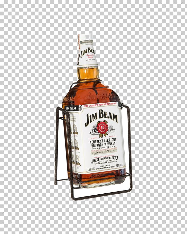 Bourbon whiskey Distilled beverage Jim Beam White Label Jim.