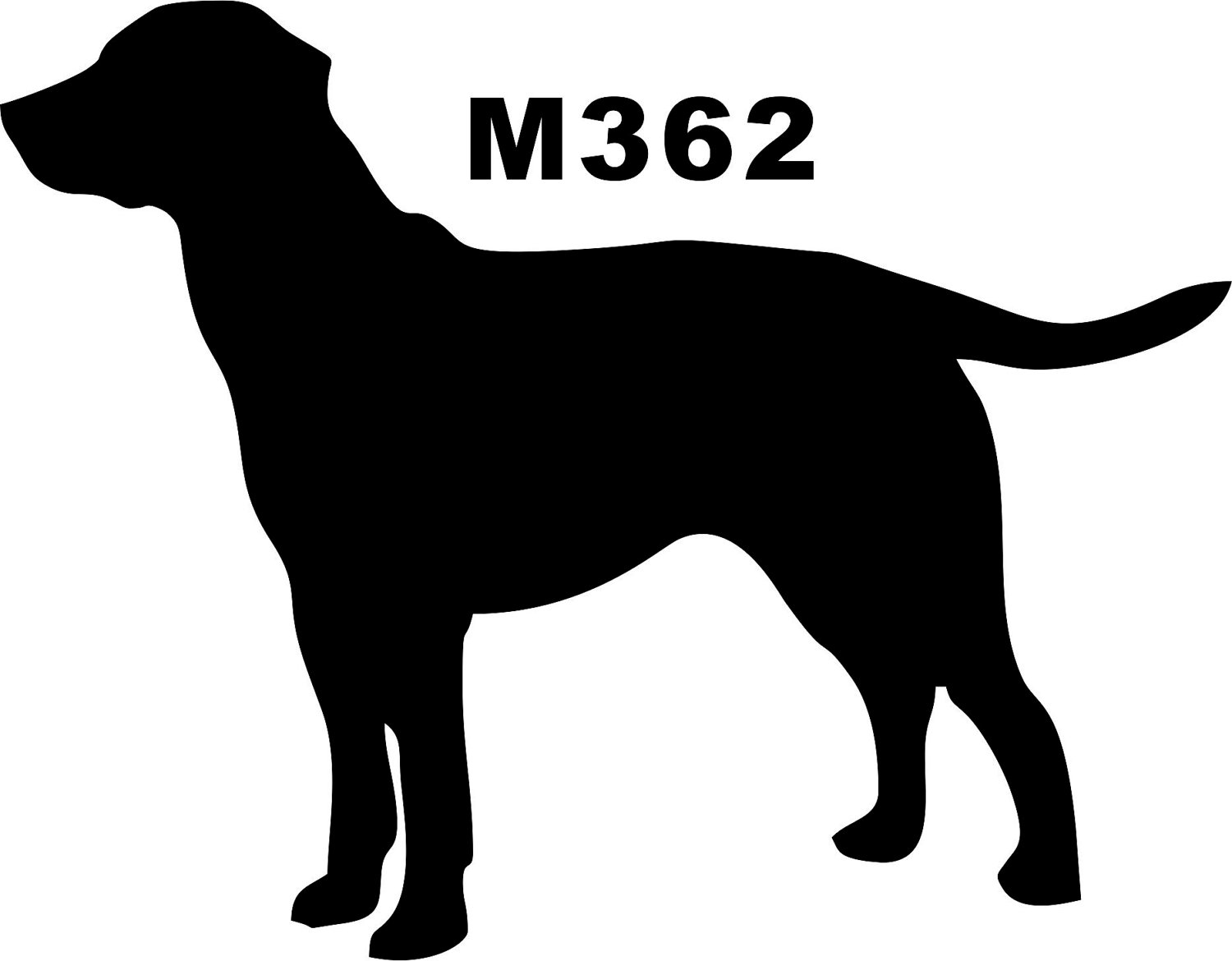 Free Labrador Retriever Head Silhouette, Download Free Clip.