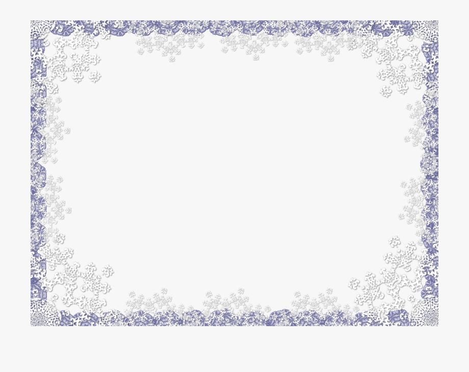 White Lace Border Clip Art.