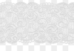 White Lace PNG.