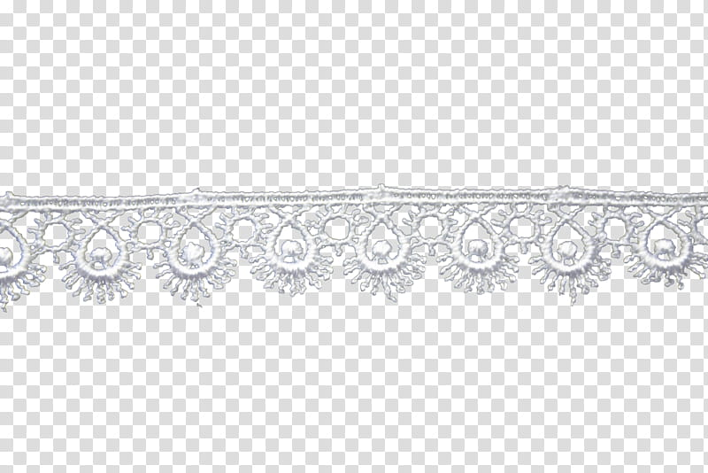 Lace and lace brushes, white lace decor illustration.