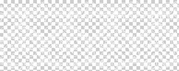 Black and white Structure Pattern, Lace Transparent , white.
