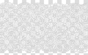 Lace, white lace transparent background PNG clipart.