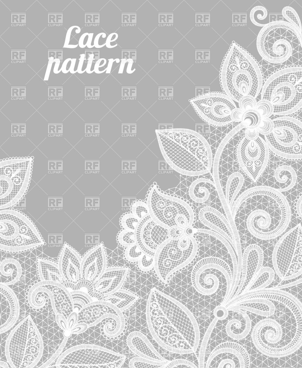 2384 Lace free clipart.