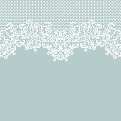 Elegant white lace vector background 01 ….
