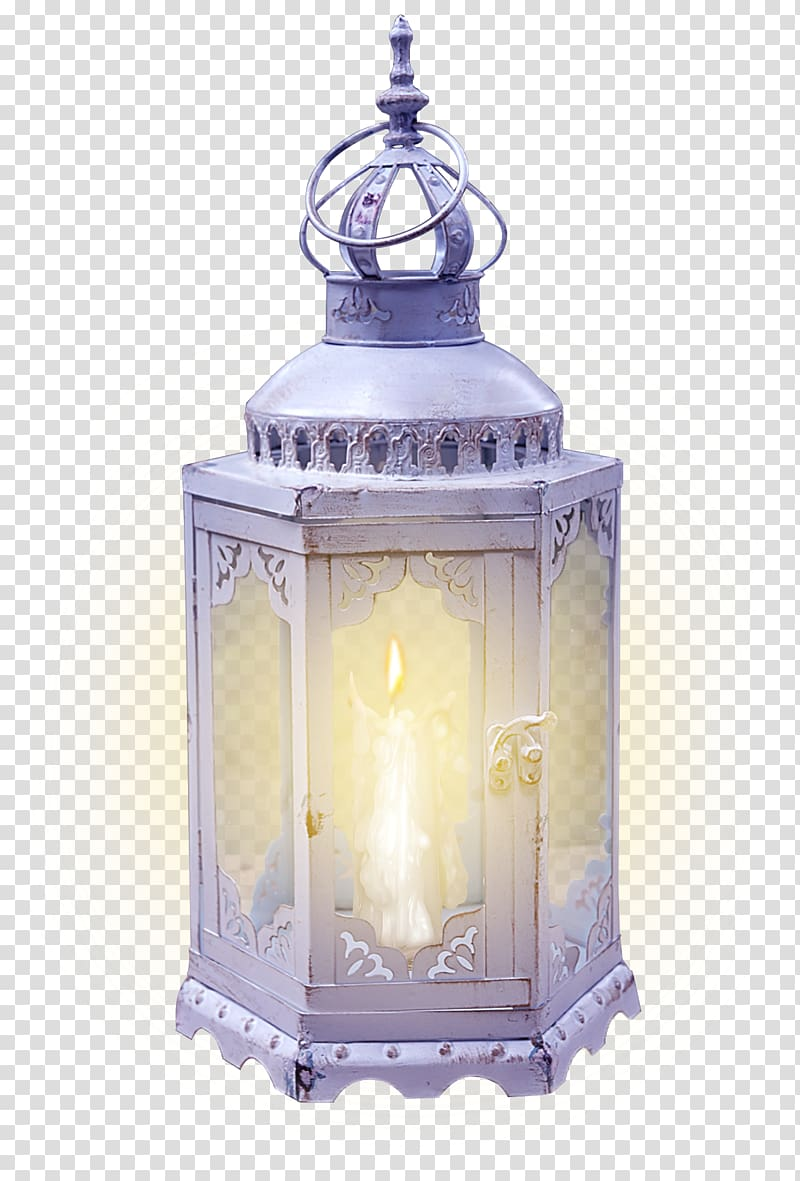 White lantern illustration, Lighting Lantern Fanous Kerosene.