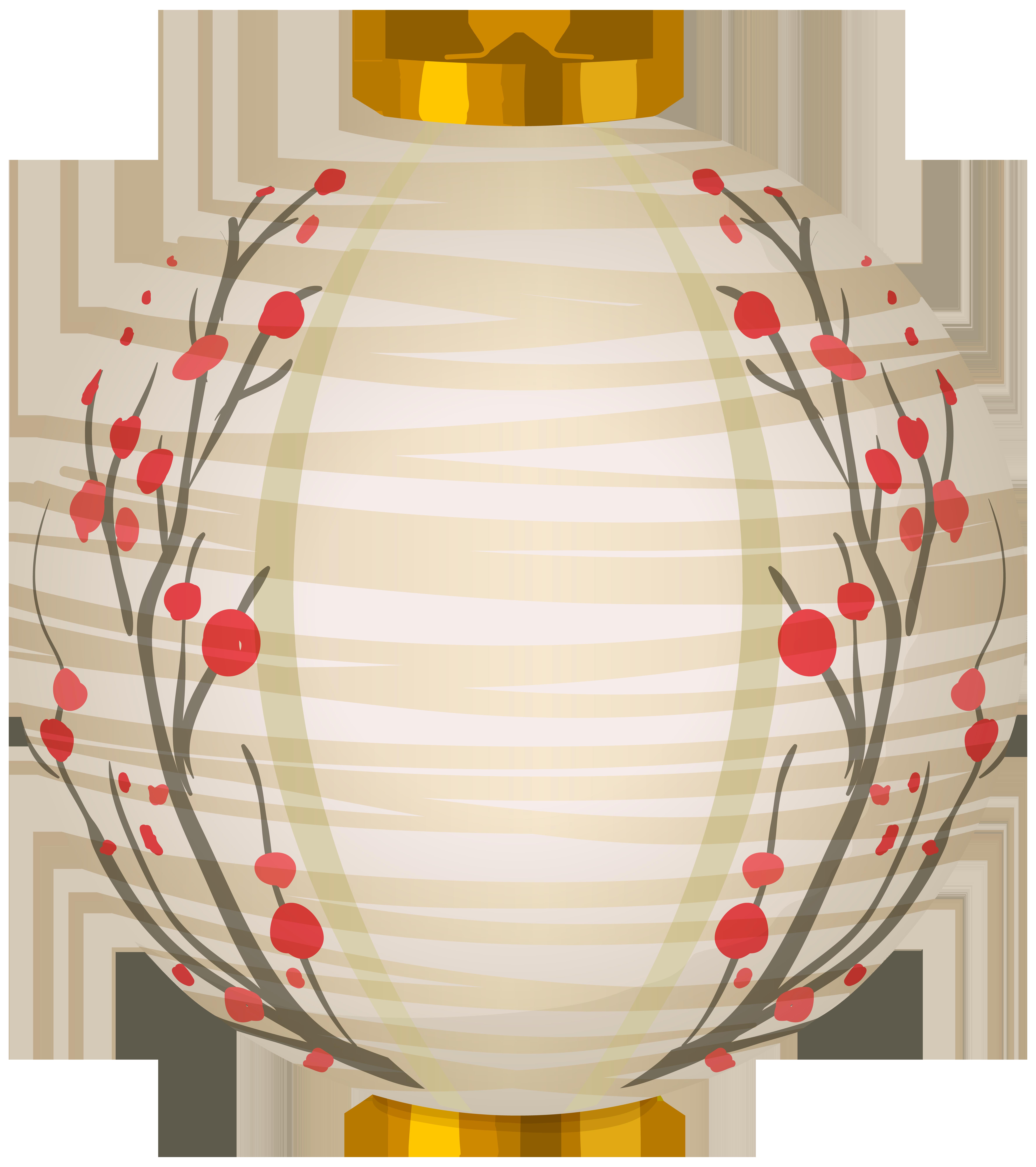 Chinese Lantern White PNG Clip Art.