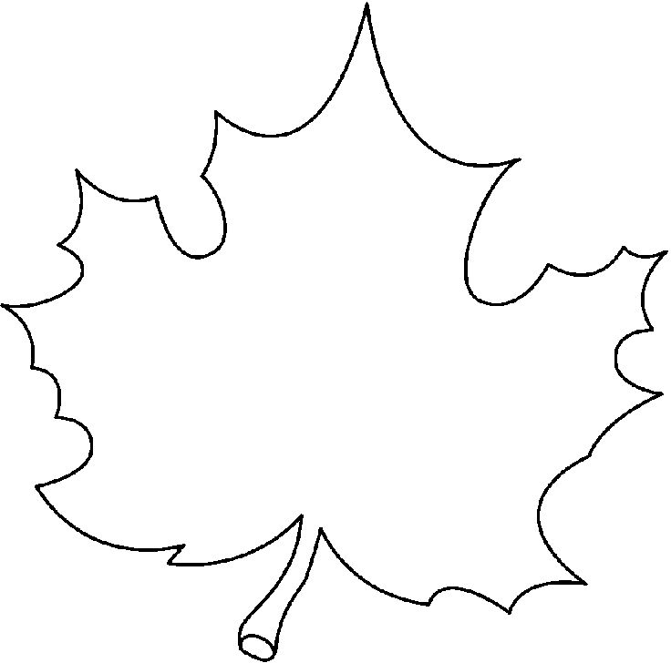 Free Black And White Leaves Clipart, Download Free Clip Art.