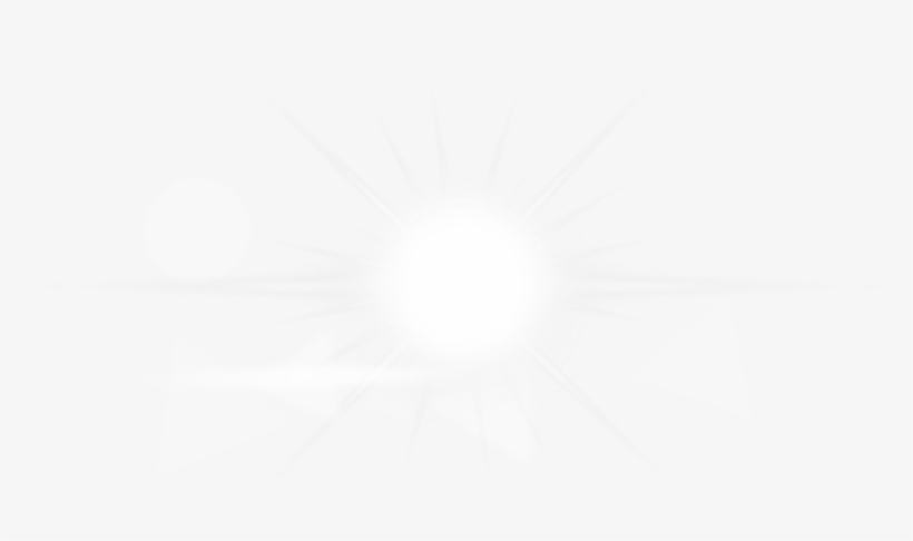 White Lens Flare PNG Images.