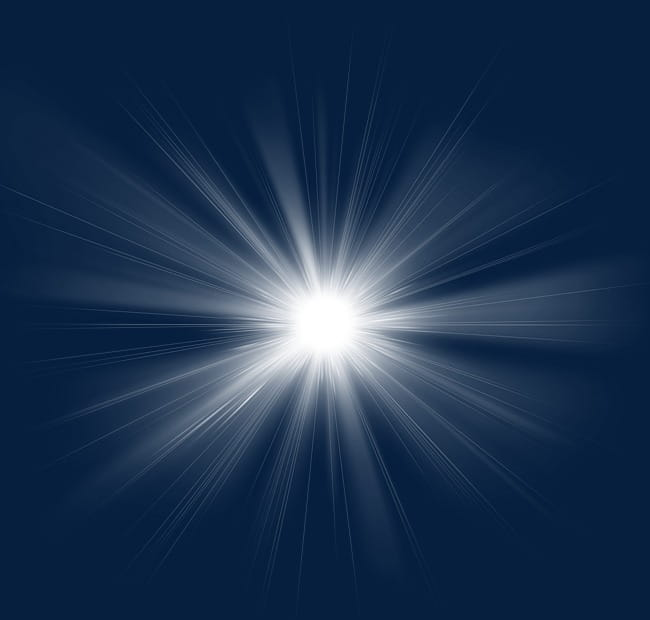 White light beam dynamic light effect PNG clipart.