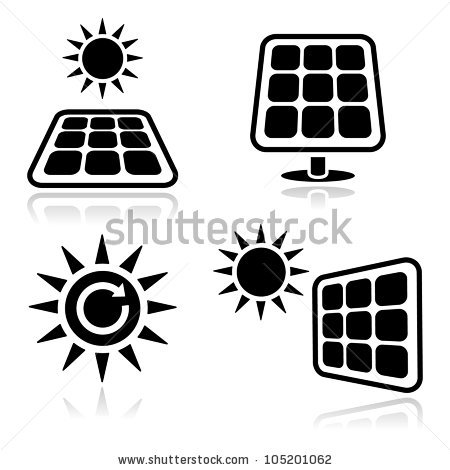 Solar Panels Stock Vectors, Images & Vector Art.
