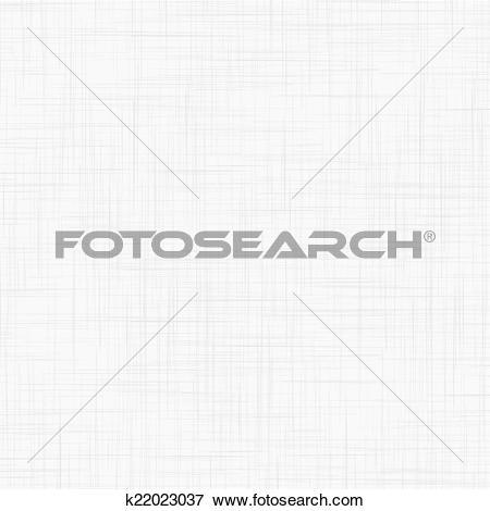 Clip Art of White linen seamless texture k22023037.