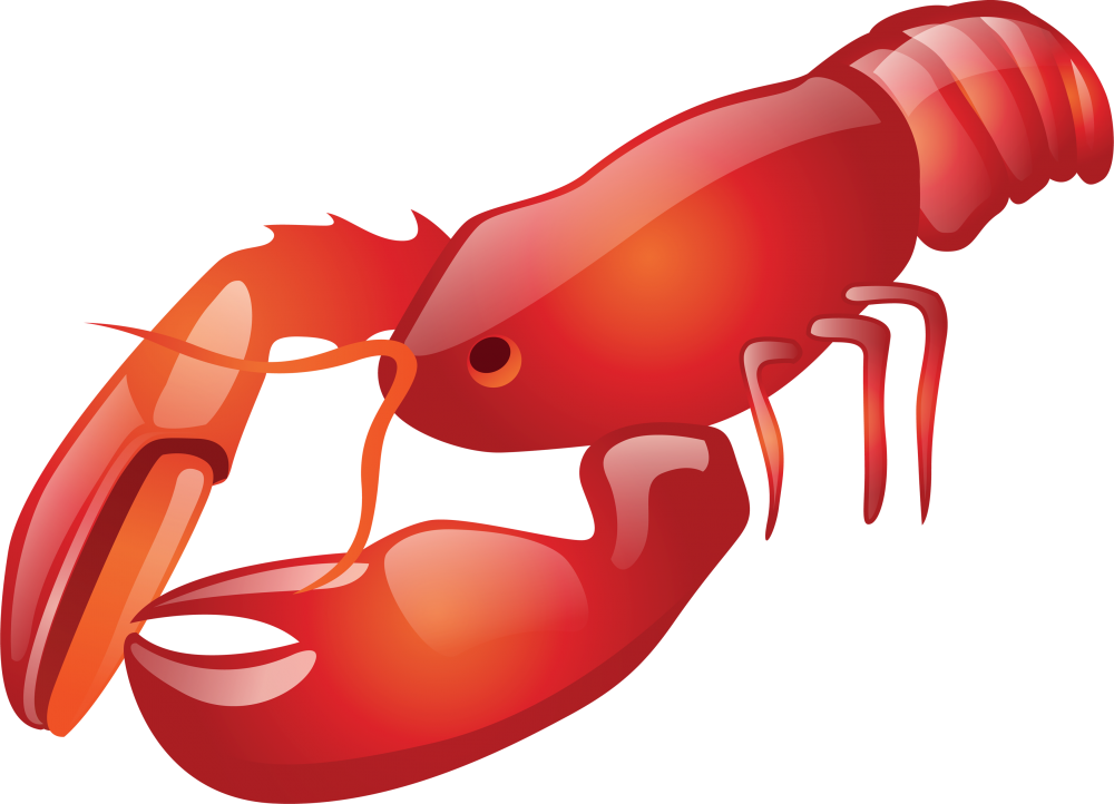 Lobster clipart transparent background, Lobster transparent.