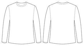 Long Sleeve Tshirt Clipart.
