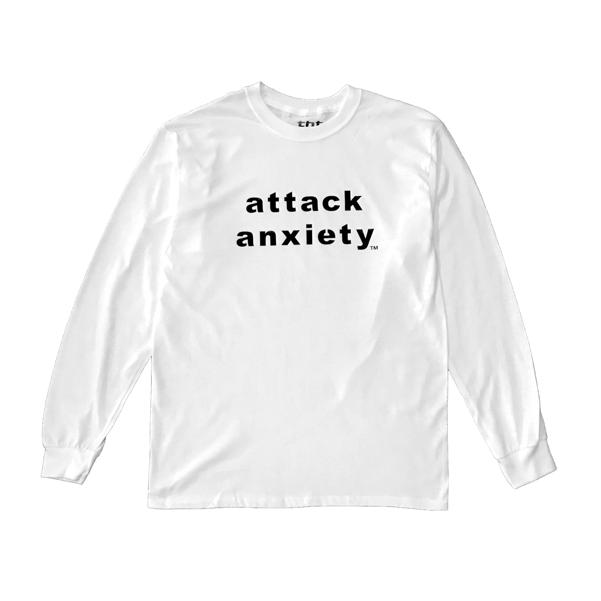 Attack Anxiety White Long Sleeve.