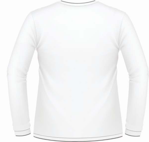 White Sleeve Shirt Template.
