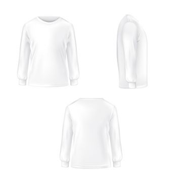 Long Sleeve PNG Images.