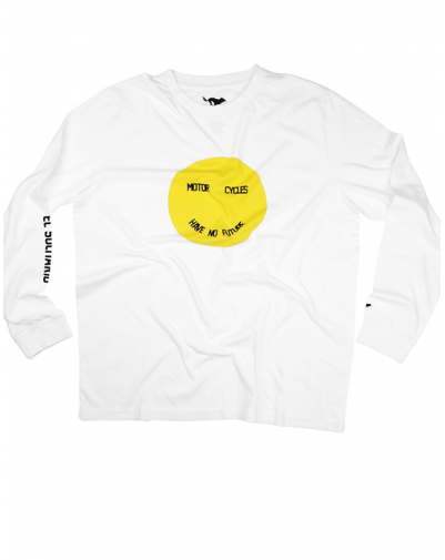 Smiley White Long Sleeve T.