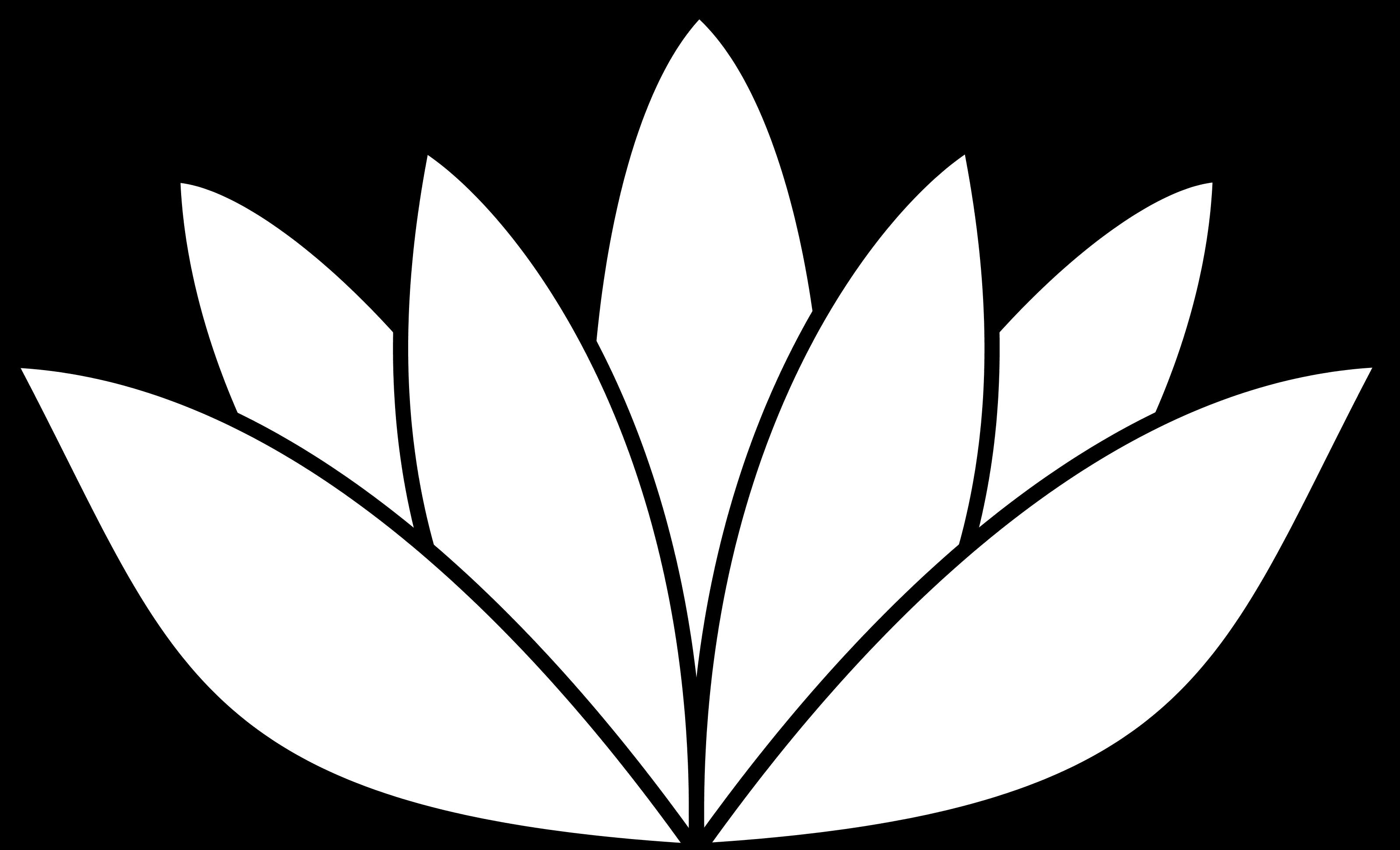 white lotus flower SVG.