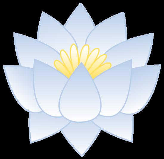 1086 Lotus Flower free clipart.