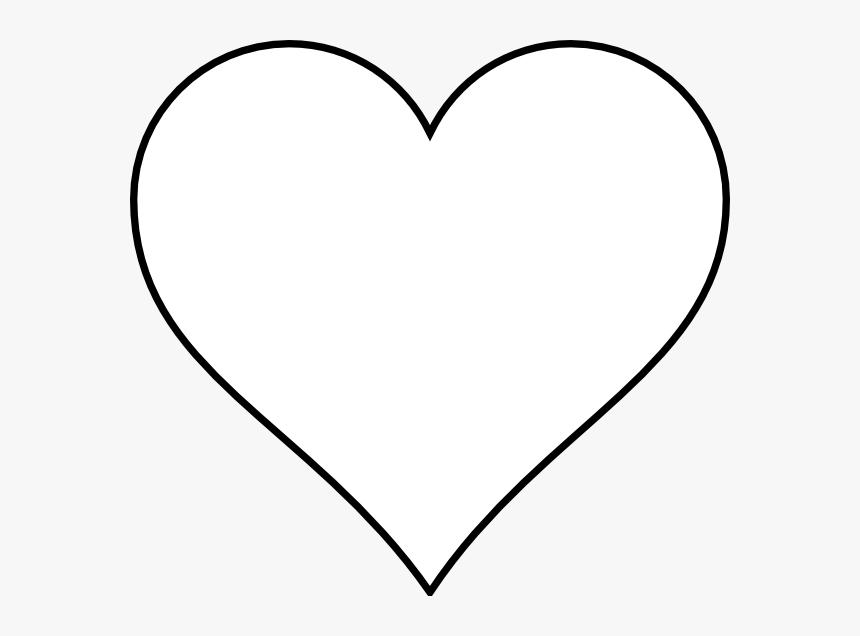 Blank Heart Clip Art.