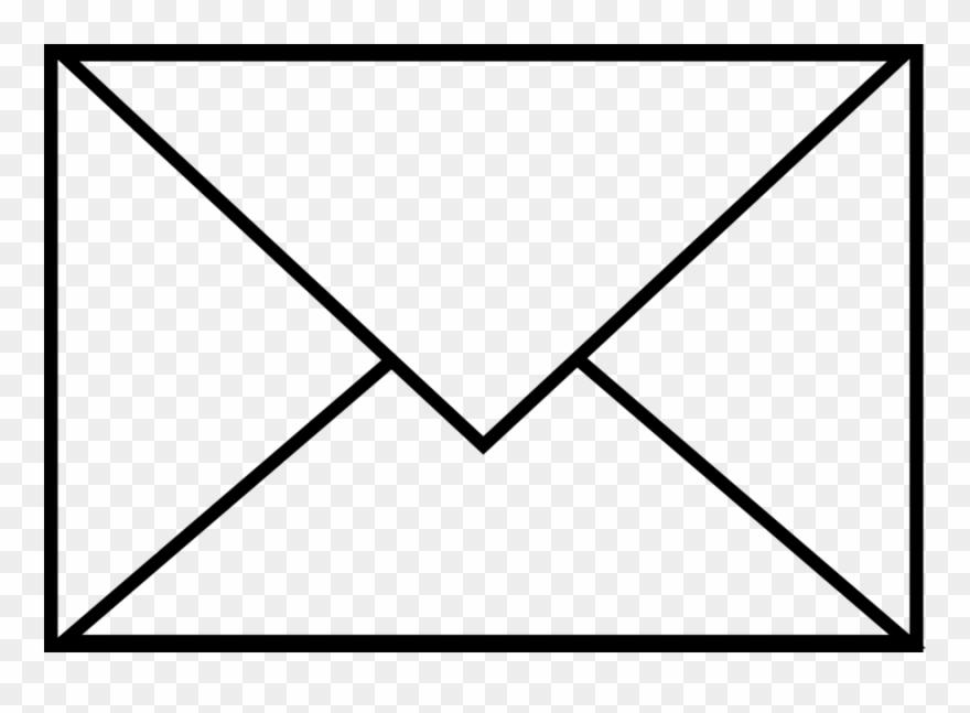 Envelope Black And White Clipart Envelope Paper Clip.