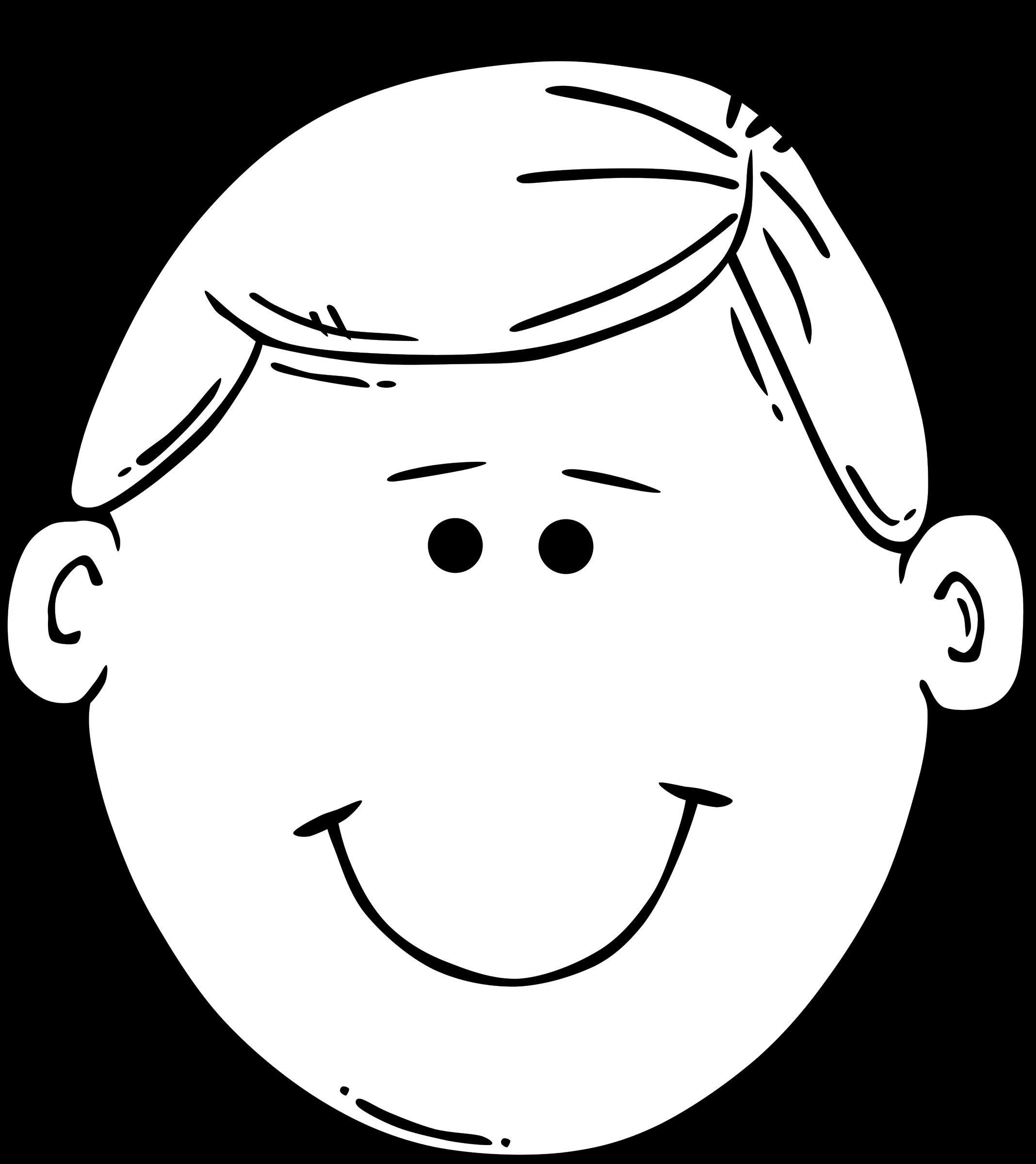 Faces clipart basic emotion, Faces basic emotion Transparent.