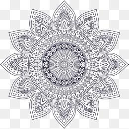 Mandala PNG Images.