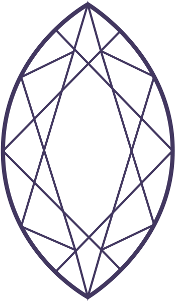 Marquise Shape Clipart.