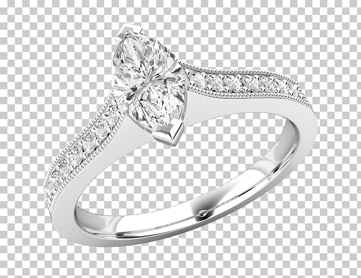 Diamond Earring Wedding ring Jewellery, marquise diamond.