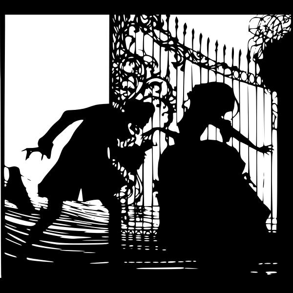 Der Tod und die Marquise.