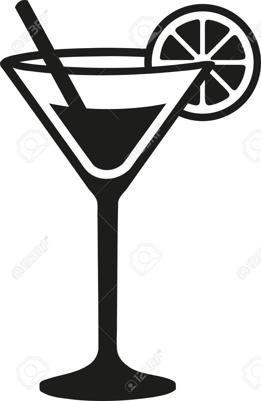 679 Martini free clipart.