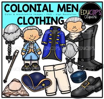 Colonial Men.
