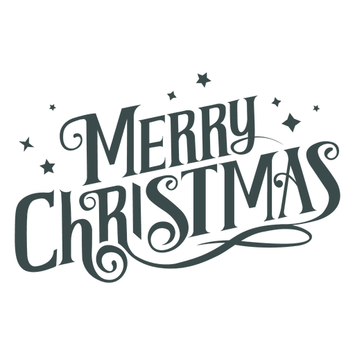 Merry christmas groovy lettering.