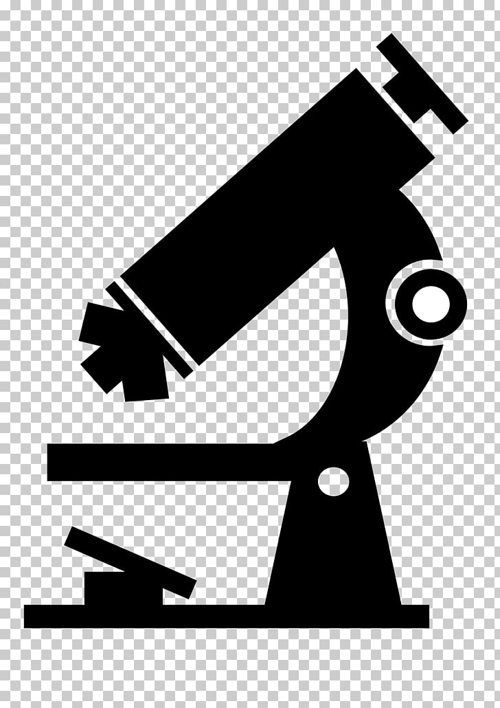 Microscope PNG clipart.