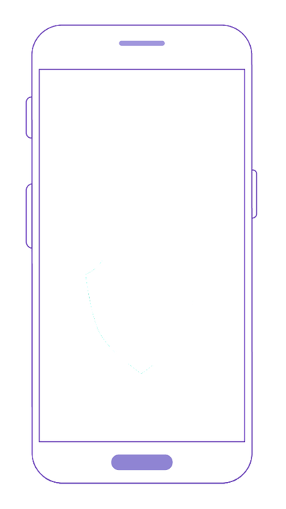 Mobile Phone Transparent.