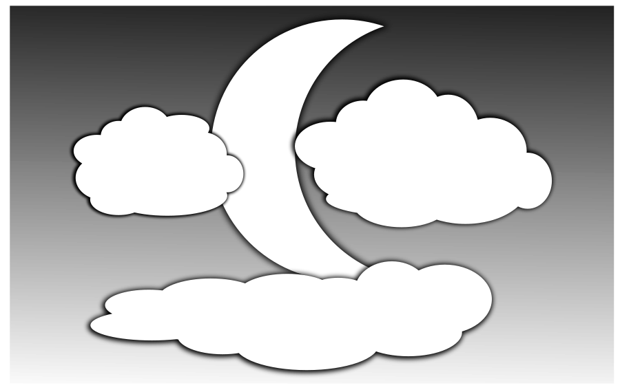 Moon black and white moon clip art black and white free clipart.
