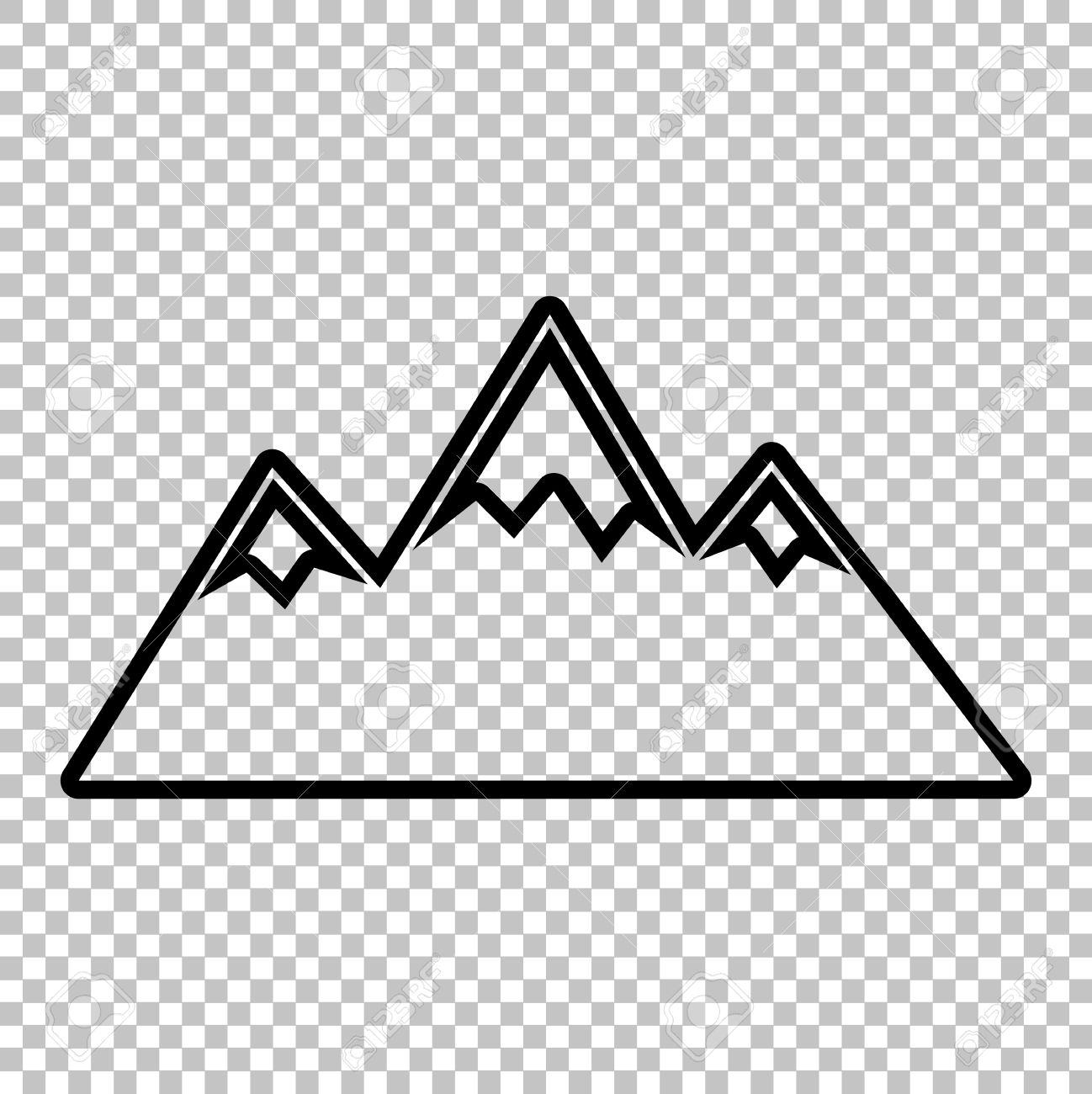 Mountain Clipart No Background.