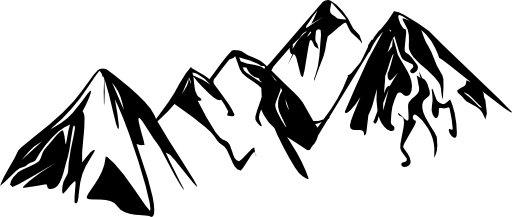 Mountain Range Clipart.