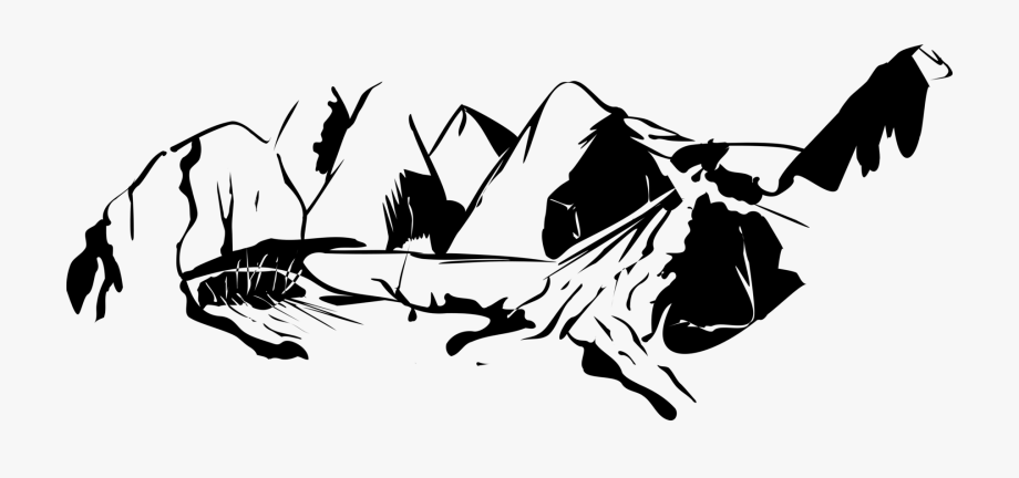 Black And White Mountain Range Download Free Commercial.