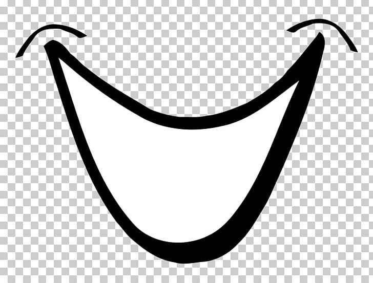 Smiley Mouth PNG, Clipart, Big, Black And White, Cartoon.