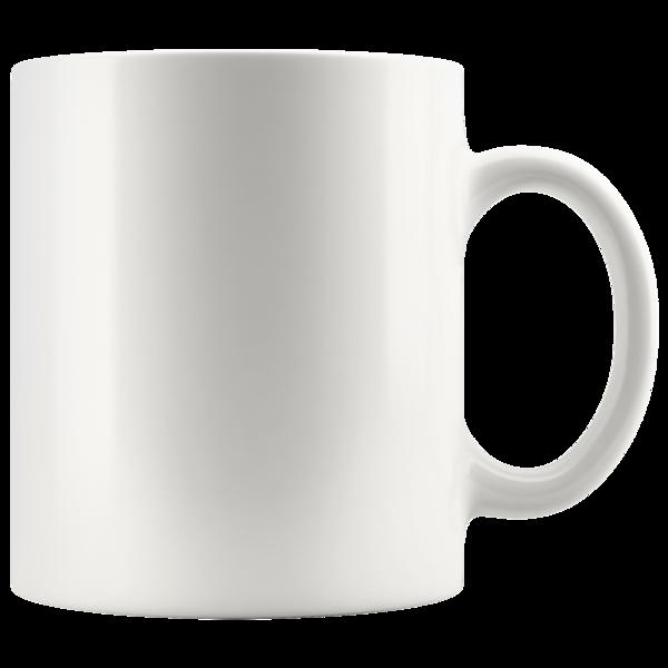 11oz White Mug.