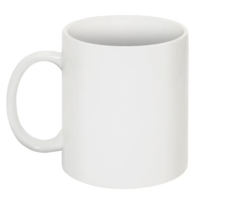 Plain White Sublimation Mug.